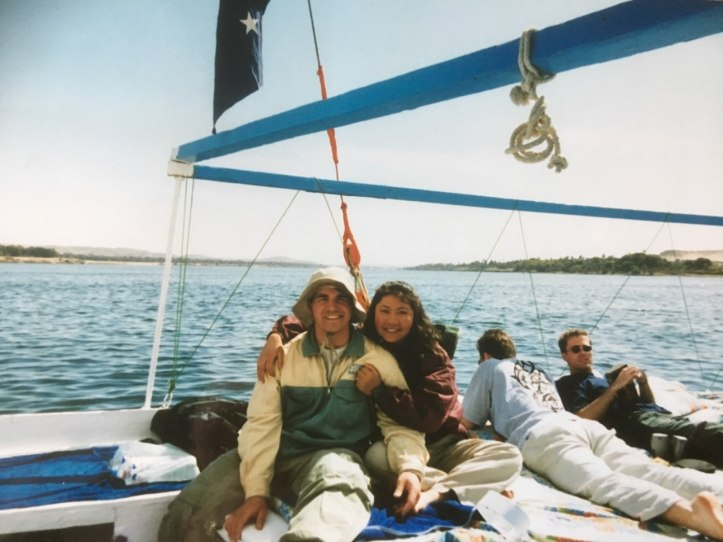 A felucca ride on the Nile